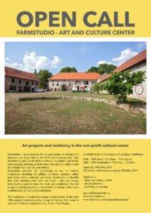 Farmstudio Open Call 2019 ENGLISH
